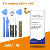 2019 New 3600mAh EB-BA300ABE Battery for Samsung Galaxy A3 2015 A300 A3000 A300X A300H A300F A3009 A300FU A300G A300M A300H/DS