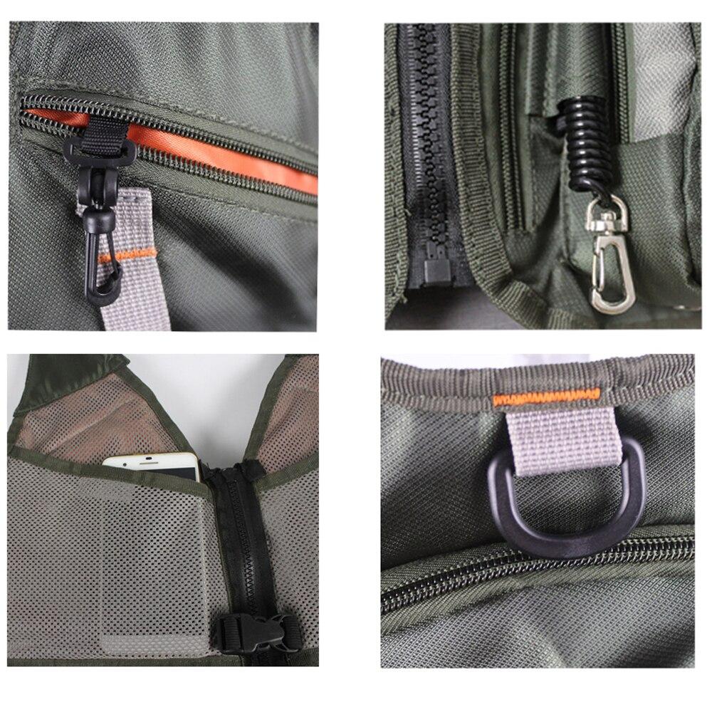 Многофункциональная уличная Рыболовная Сумка, спортивный рюкзак, охотничий рыболовный жилет, аксессуары для альпинизма, сумка + 2л гидратационный водный пакет - 5