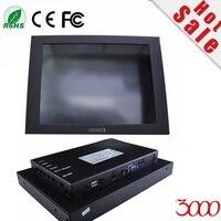 Лидер продаж 10 дюймов черный металлический корпус оборудования IPC открытым Рамки USB резистивный промышленного Сенсорный экран Мониторы