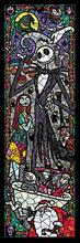 DIY5D Diamond Painting Nightmare Before Christmas Stained Glass Embroidery Paint with Diamonds