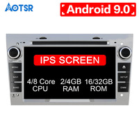 Android 9.0 4 core/8 core IPS screen DSP 2 DIN Car GPS For opel Vauxhall Astra H G J Vectra Antara Zafira Corsa DVD PLAYER