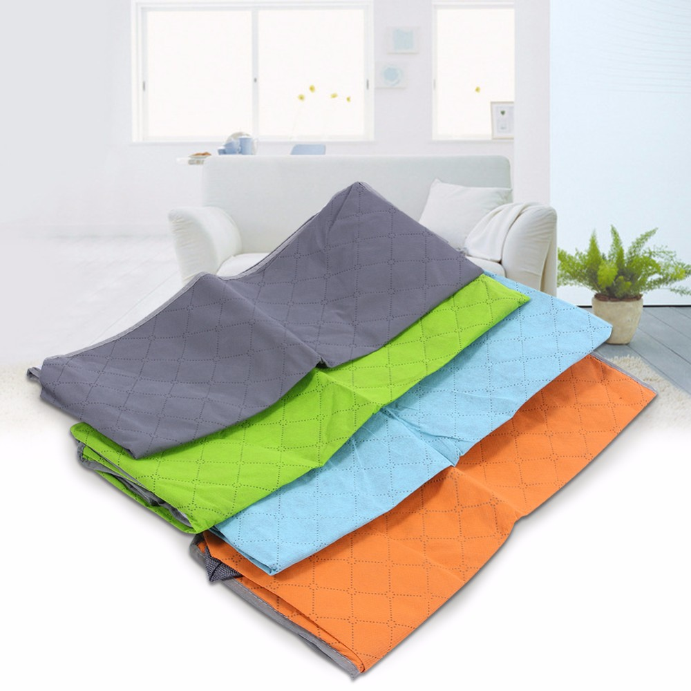 foldable storage bag bamboo charcoal fiber clothes sweater blanket