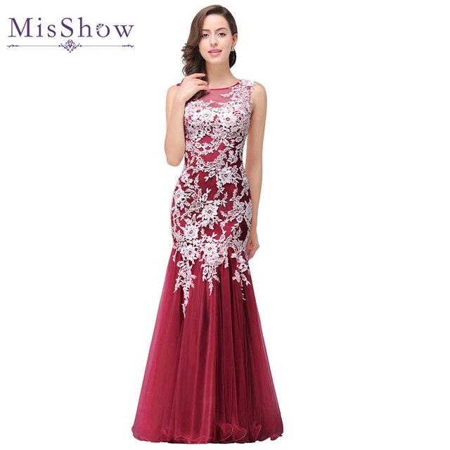 b613333397 Vestido de Festa longo 2019 New Mermaid White Lace Pink Scoop Neckline  Sheer Back Long Prom Dresses Beautiful Formal Party Dress
