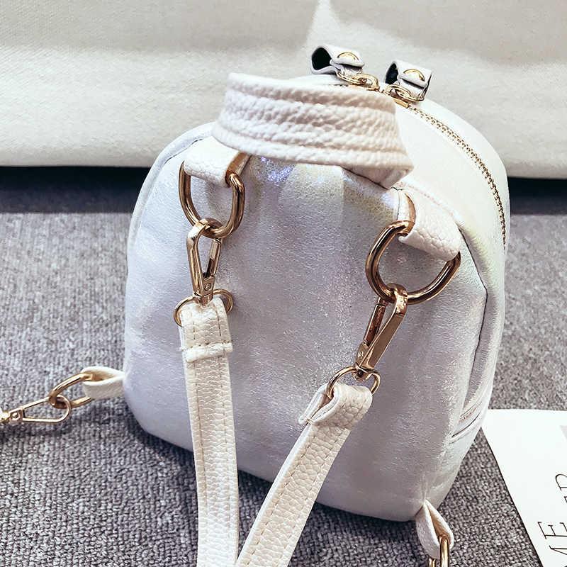Женский мини-рюкзак, модные кожаные рюкзаки для девочек-подростков, маленький женский Школьный рюкзак, милая сумка на плечо, рюкзак Mochila