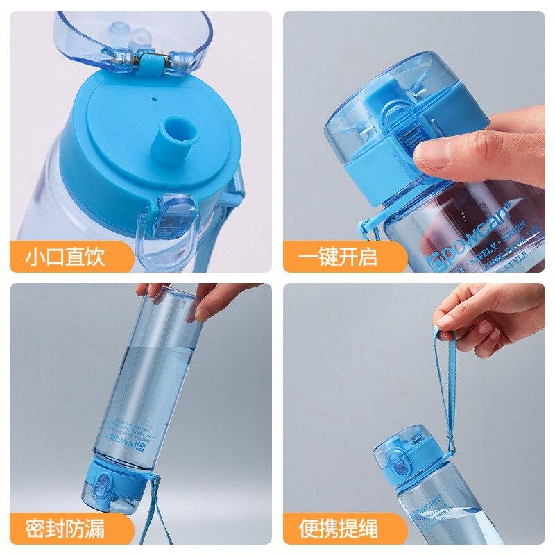 HTB10TWsaMaH3KVjSZFpq6zhKpXal 501-600ml Bottle for Water Outdoor Water Bottle Sports Water Bottle Eco-friendly with Lid Hiking Camping Plastic My Bottle.j