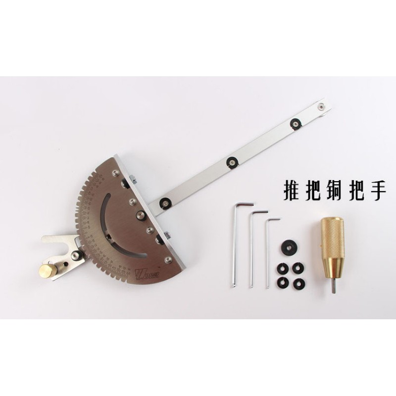 Miter Gauge For Bandsaw Table Saw Angle Miter Router Gauge Guide Engraving Machine Woodworking DIY Tool