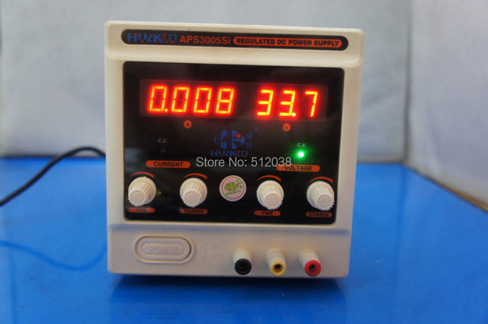 APS3005Si 30V 0-5A / 1mA DC Power Supply Source