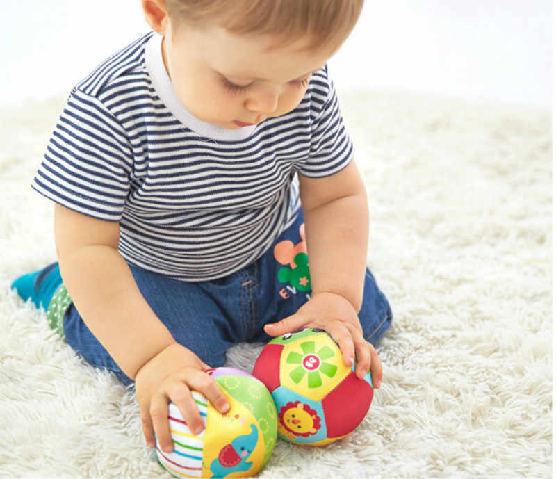 Balls Baby For 0-12 Months Baby Ball Toys Animal Ball Soft Stuffed Toy Rattles Infant Babies Body Building Ball
