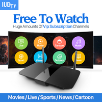 HD Android Smart TV Box Quad Core Set Top Box With HD 1700 Free Channel For