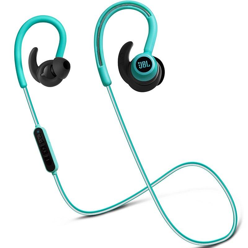 JBL réfléchir Contour casque sans fil Bluetooth écouteur Sport musique dynamique écouteur 8 heures batterie résistant à la sueur avec Microphone