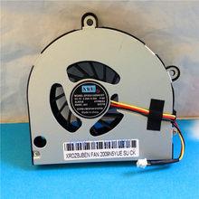 New CPU Cooler Fan Para Toshiba C650 C655 C660 C665 A660 A665 A665D P750 P750D P755 P755D L675D L670 KSB06105HA Substituição DIY