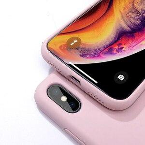 Image 5 - オリジナル液体ケース iphone XS 高級 Iphone 7 8 プラス 6 6 S プラス XR XS 最大キャンディーカラー Fundas Coques カパス