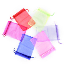 10pcs New Arrive Organzator Bag Jewelry s Wedding Pouch Bag Favors and Gifts Cheap Organza Pouches Decoration(China)