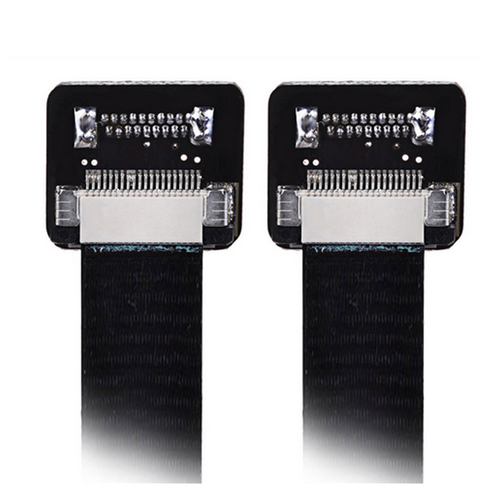 FPV FPC Ribbon Cable plano 0.5mm Pitch 20Pin para HDMI HDTV FPV - Cables de computadora y conectores - foto 3