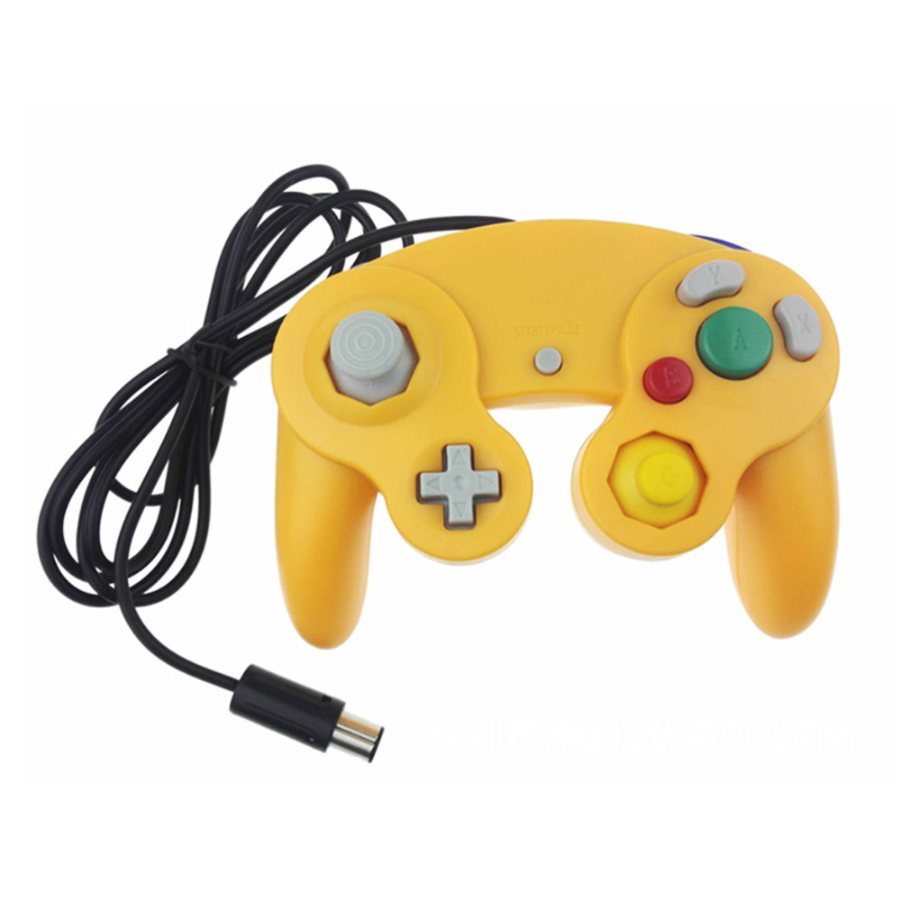 Image 4 - HAOBA Game Shock JoyPad Vibration For Ninten for Wii GameCube Controller for Pad Two kinds interface Multi color optional-in Gamepads from Consumer Electronics