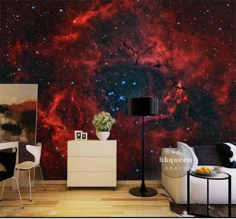 custom 3d photo wallpaper kids room mural red universe sky 3d photo painting sofa TV background non-woven wallpaper for wall 3d book knowledge power channel creative 3d large mural wallpaper 3d bedroom living room tv backdrop painting wallpaper