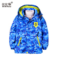 boy windbreaker long sleeve spring windbreaker kid Coats Camouflage Baby jacket Hooded warm Clothes for Kids children jackets
