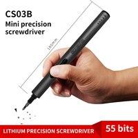 CREATIONSPACE CS03B MINI Precision maintenance tool 260mAH Mini Electric screwdriver 55 bits