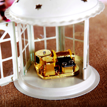 Philco fashion vintage glass music box for new year wedding Christmas birthday gift girls home docoration free shipping