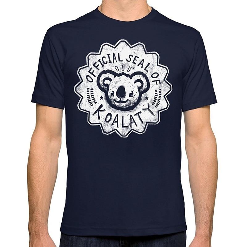 Cheap Graphic T Shirts T Shirt Shop Short Men Koala O-Neck Fashion 2018 Tees