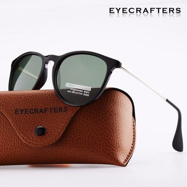 894392d8881 Eyecrafters G15 Brand Designer Polarized Sunglasses Womens Retro Vintage  Cat Eye Sunglasses Female Fashion Mirrored Eyewear