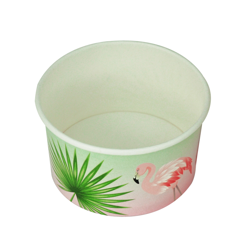 New arrival 16pcs/lot Flamingo Paper Cups Paper Treat Tub Disposable Paper Cups Birthday Party Decorations