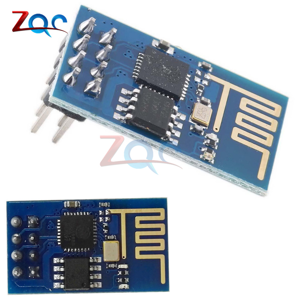 5PCS ESP8266 Esp-01 WIFI Wireless Transceiver Module Send Receive LWIP AP+STA