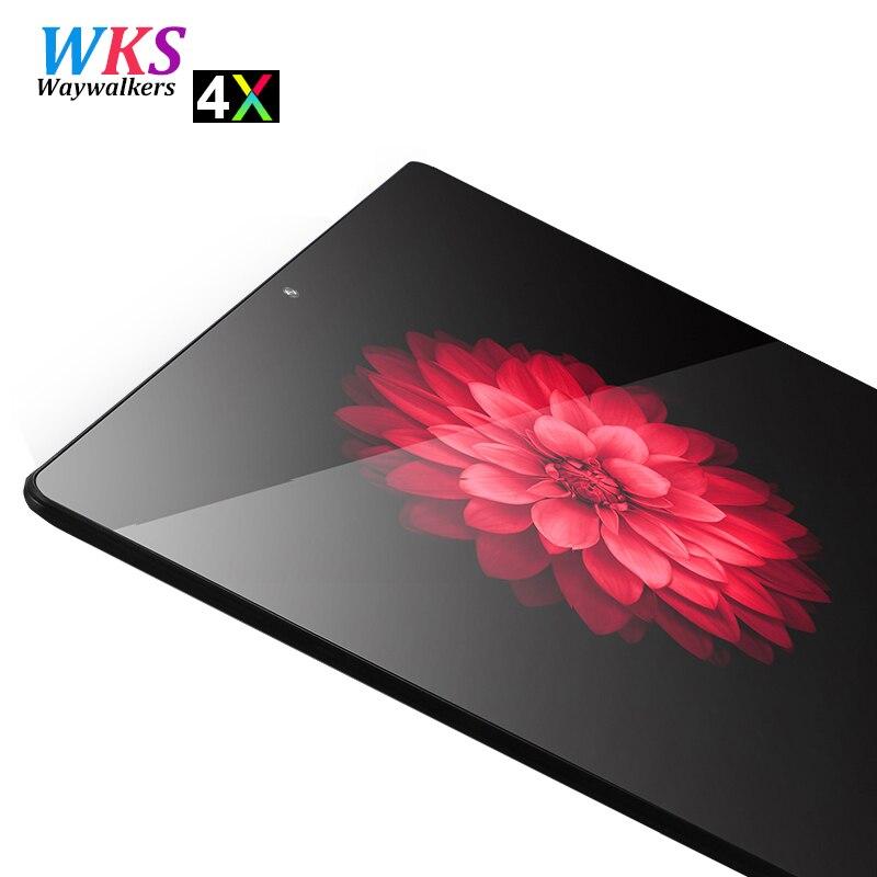 Más nuevo 10 pulgadas Android 7,0 tablet pc 10 core 4 GB RAM 64 GB ROM 1920*1200 IPS Dual tarjeta SIM wifi Bluetooth Smart tablets 10 10,1