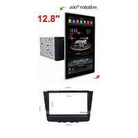 12,8 PX6 Android 8,1 Универсальный 2 Din/двойной автомобильный dvd плейер Din + радио + gps навигация + Авто + стерео + Bluetooth + SD USB RDS
