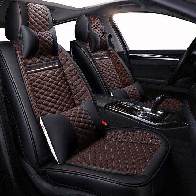 High quality PU Leather car seat covers fit opel mokka seat ibiza skoda octavia a5 mercedes w210 w212 honda civic car accessorie