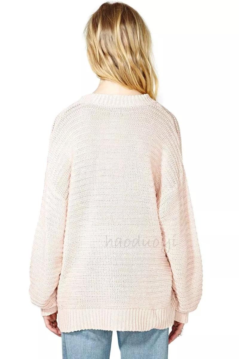 Sweaters 2015 Loose Styke Cloak Oversized Sweater Leaders Rib ...