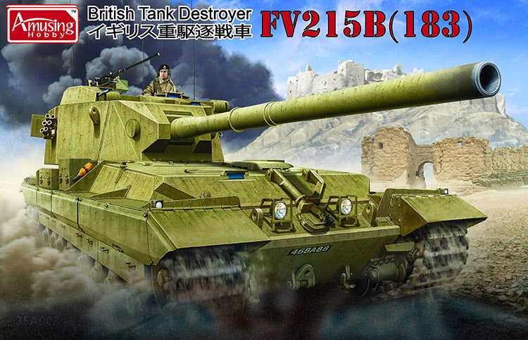 AMUSING HOBBY 1/35 Tank Destroyer FV215B (183) #35A008