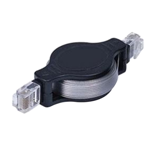 4.9FT Portable Retractable RJ45 Ethernet Wire LAN Cord Internet Network Cable