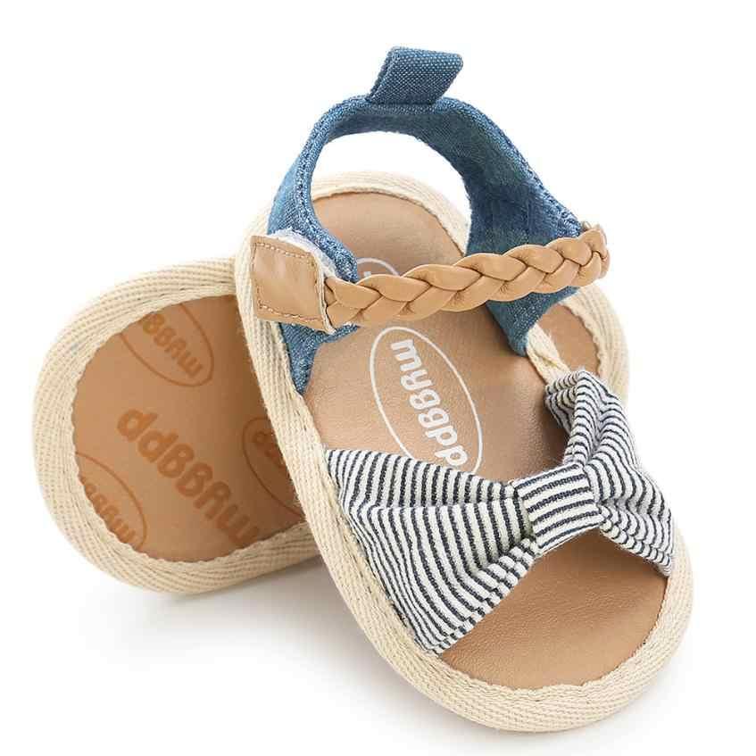 TELOTUNY 2018 sommer baby mädchen Baby Gewebten Gürtel Sandalen Schuh Casual Schuhe Sneaker Anti-slip Weiche Sohle Kleinkind Schuhe 5,4