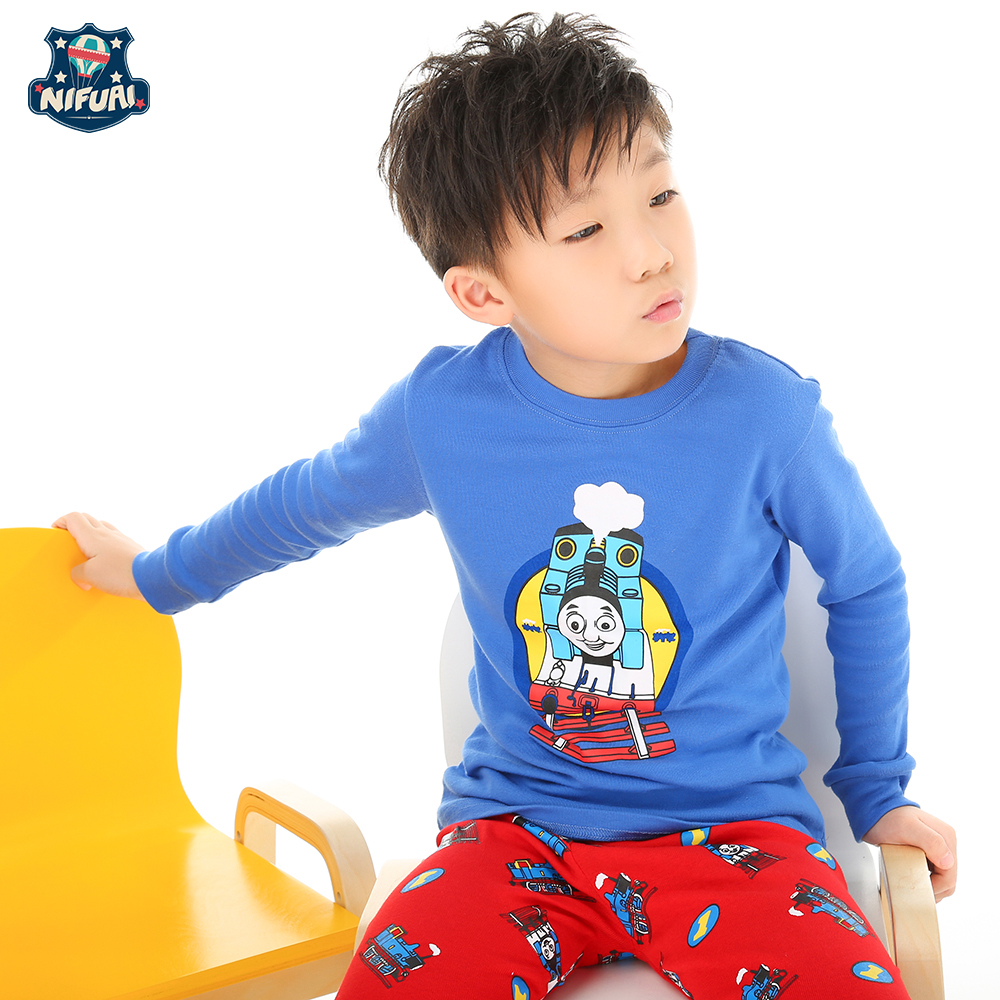 Boys t-shirt thomas and friends clothes children shirts camisetas thomas train Baby kids Tops Tees clothes cotton long sleeve db3814 dave bella autumn baby boys star printed t shirt kids navy tees bosy tops kids t shirts