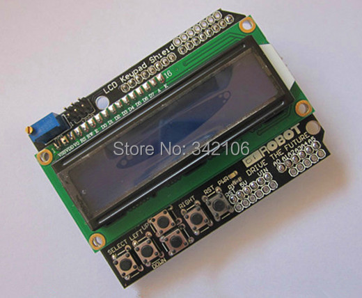 Free Shipping!!!  LCD1602 LCD Character Input / Output Expansion Board