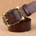 Hot New Vintage Belt For Woman Genuine Leather Cow skin strap Fashion pin Buckle Belts Strap Women Top Quality jeans girdle