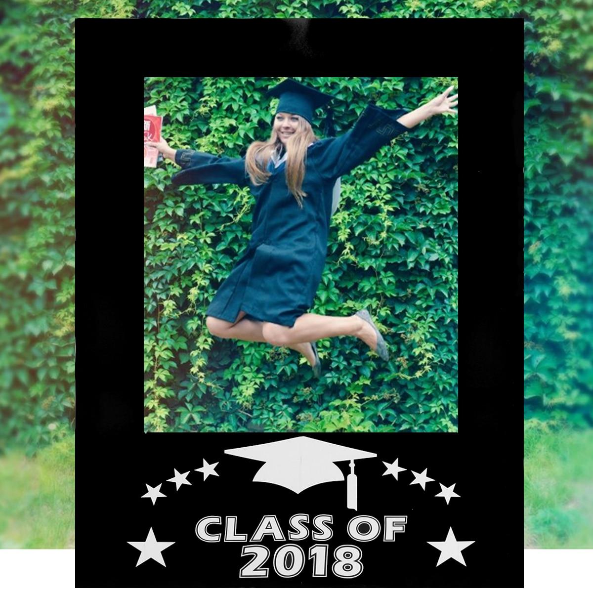 Class Of 2018 Graduation Party Props Decoration DIY Photo Picture ...