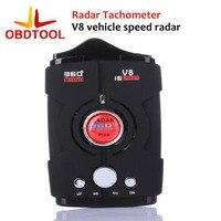 Black Dependable Fahsion New V8 Laser Speed Of 360 Degree Voice Warning Car Electronic Dog Radar