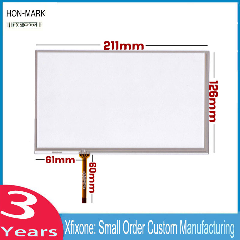 HON-MARK New 9 inch IPC Security Equipment Handwriting Screen AT090TN10 TN12 Standard Touch Screen new 7 inch tablet pc mglctp 701271 authentic touch screen handwriting screen multi point capacitive screen external screen