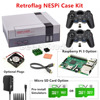 NESPi Case Retroflag Kit With Fan 2 Pcs 2 4GHz Wireless Gamepads Optional 16G 32G Micro