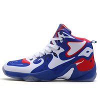 Basketball Sneakers For Men Outdoor Camouflage High Top Wear Resisting Non Slip Athletic Lace Up Sport Shoes