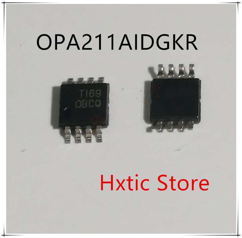 NEW 10PCS/LOT  OPA211AIDGKR OPA211AIDGK OPA211A OPA211 MARKING CBCQ MSOP-8 IC