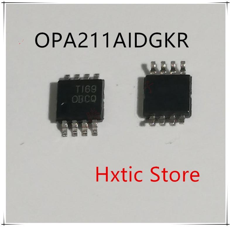 NEW 10PCS/LOT  OPA211AIDGKR OPA211AIDGK OPA211A OPA211 MARKING CBCQ MSOP-8 IC