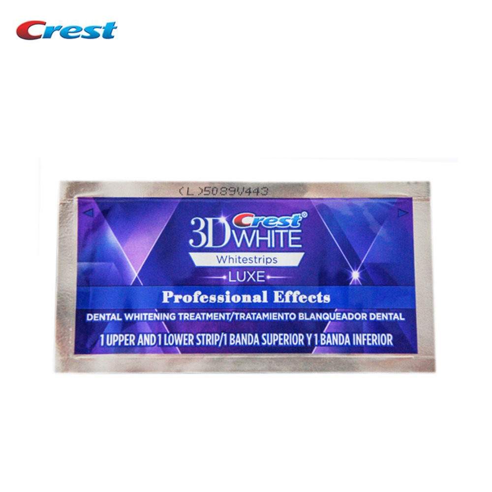 Crest 3D White Whitestrips LUXE Professional Effects Original Oral Hygiene Teeth Whitening 2