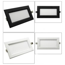 Hot sale Super Bright Recessed square LED Panel Downlight 12W Spot light decoration Ceiling Lamp AC85-265V