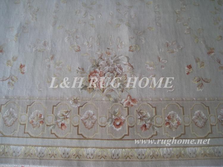 Penghantaran percuma 6'X9 '160Line Hand-knotted Persian Rug, Wool and - Tekstil rumah - Foto 4