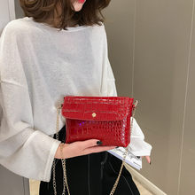Luxury Clutch Strap Small Female Bags Women Stone Pattern Crossbody Bag Shoulder Bag Simple Small Square Bag Chain Mobile Phone(China)