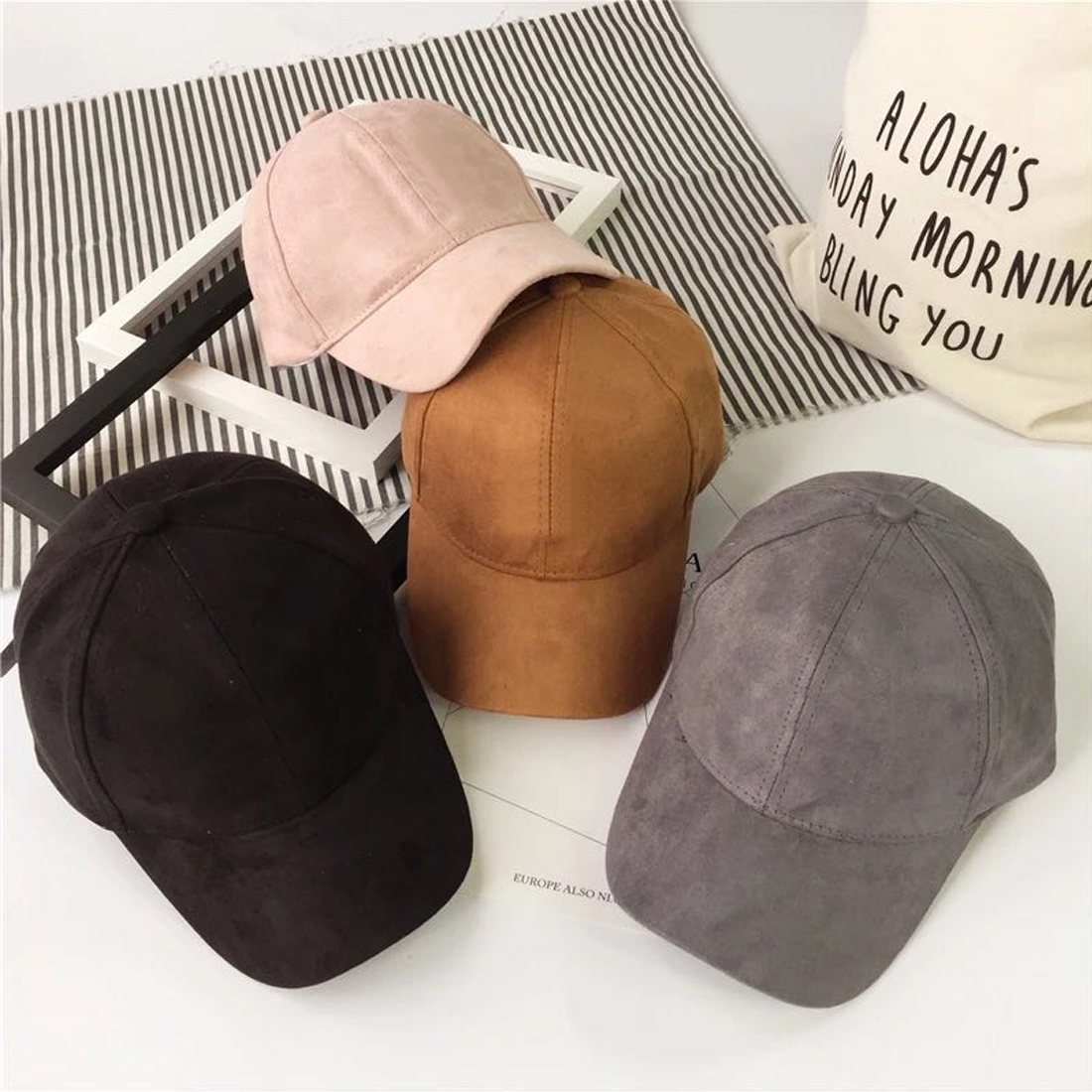 Wholesale FULL Snapback Cap Women Fashion Brand Bone Hip Hop Caps Men Casquette Suede Hats Black Pink Baseball Cap hot sell new autumn fashion men baseball caps snapbacks hip hop hats for women men bone letter casual casquette caps