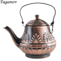 Teaware Teapots 1.8L stainless steel strainer filter Cooking Hot pot Restaurant restaurant Induction cooker tea set antique gift